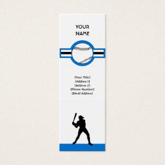 baseball : air star mini business card