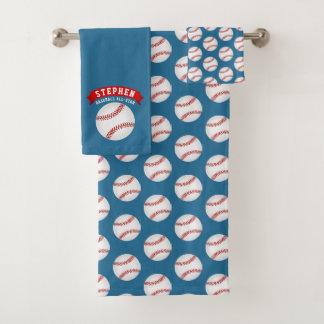 Baseball All-Star Bath Towel Set