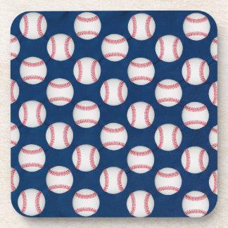 Baseball/American flag coaster