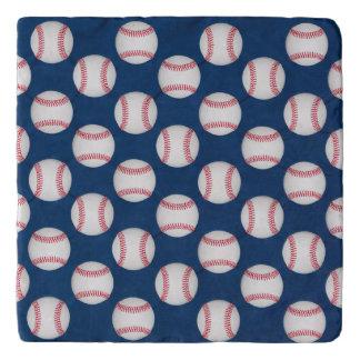 baseball/American flag trivet