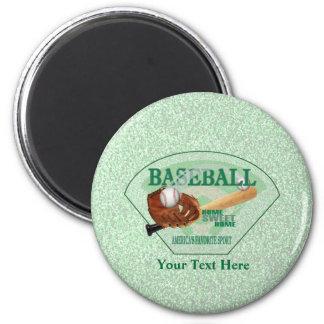 Baseball – Americas Favorite Sport Design Magnet