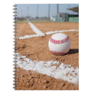 Baseball and Baseball Field Notebooks