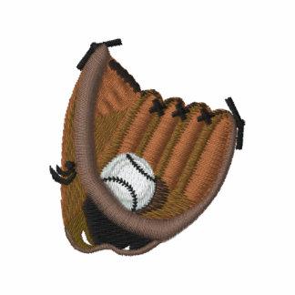 Baseball and Glove Embroidered Shirt