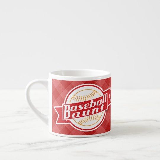 Baseball Aunt Cup Mug