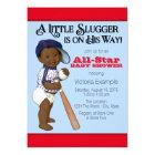 Baseball Baby Shower Card