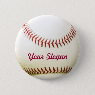 Baseball Badge Pin Button