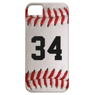 Baseball Ball and Number iPhone 5 Cover