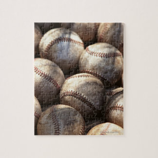 Baseball Ball Jigsaw Puzzle
