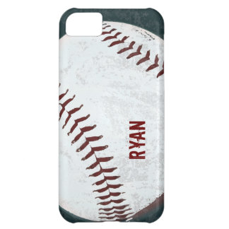 baseball ball vintage styled iPhone 5C cover