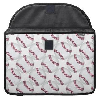Baseball Balls Pattern Sports Sleeve For MacBooks