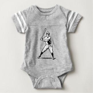 Baseball Batter Baby Bodysuit