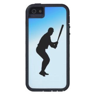 Baseball Batter Blue Sports iPhone 5 Case