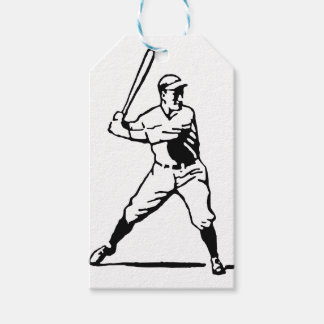 Baseball Batter Gift Tags