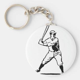 Baseball Batter Keychain