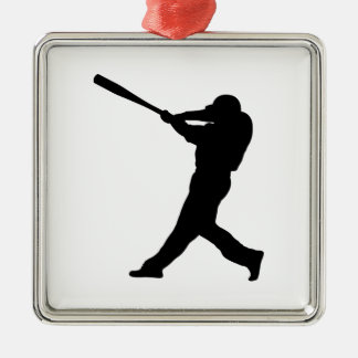 Baseball Batter Metal Ornament