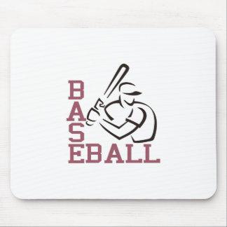 Baseball Batter Mouse Pad