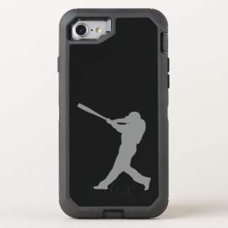Baseball Batter OtterBox Defender iPhone 8/7 Case