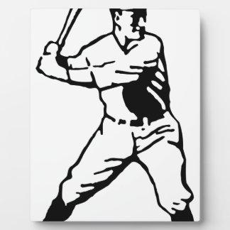Baseball Batter Plaque