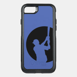 Baseball Batter Swing OtterBox Commuter iPhone 8/7 Case