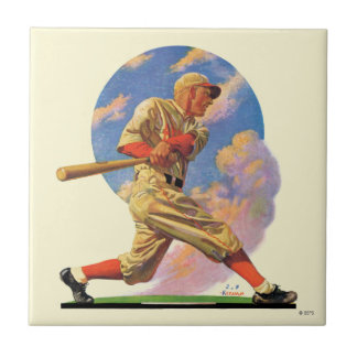 Baseball Batter Tile