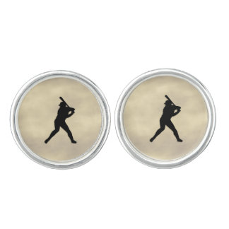 Baseball Batter Up Cufflinks