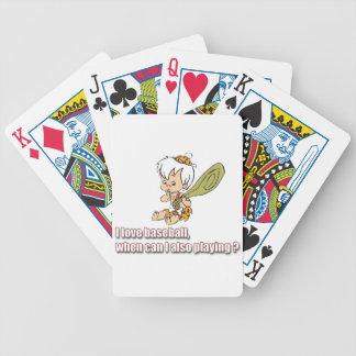 Baseball Bicycle Playing Cards