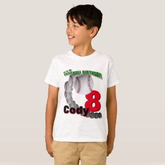 Baseball Birthday - Custom T-SHIRT