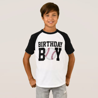 Baseball Birthday Shirt, Boys Birthday Shirt