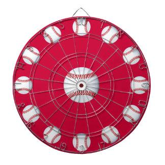 Baseball Bullseye Dart Board