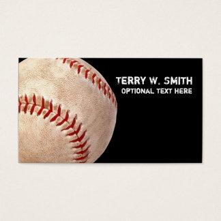 Baseball Business Card