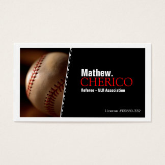 Baseball - Business Cards
