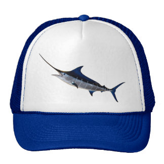 Baseball cap for angler motive sword fish trucker hat