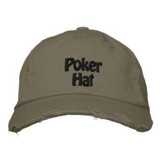 Baseball cap Poker hat Embroidered hat
