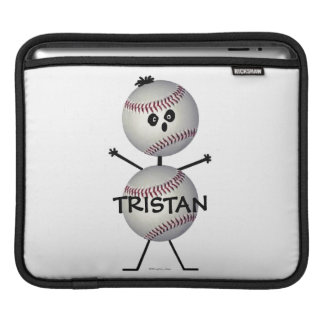Baseball Cartoon iPad Sleeve