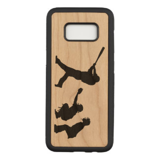 Baseball Carved Samsung Galaxy S8 Case