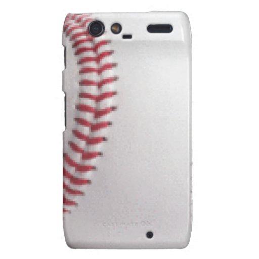 Baseball Motorola Droid RAZR Cover