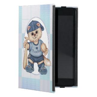 BASEBALL CAT BLEU CUTE iPad Mini iPad Mini Cover