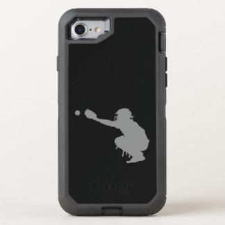 Baseball Catcher OtterBox Defender iPhone 8/7 Case
