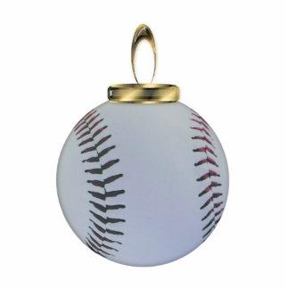Baseball Christmas Ornament Photo Sculpture Ornament