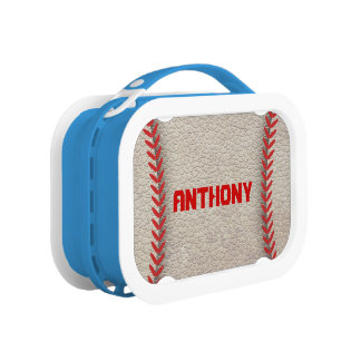 Baseball Closeup Yubo Lunchbox