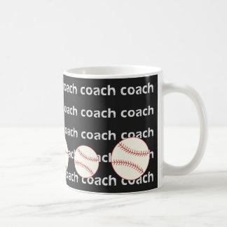Baseball Coach Mug Cool Sports Pattern