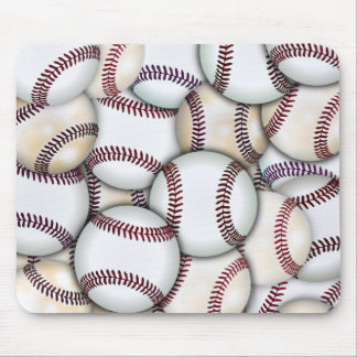Baseball Collage Mouse Pad