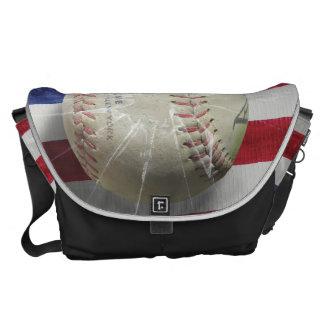 Baseball Courier Bag