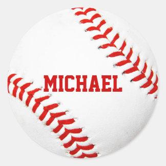 Baseball Custom Stickers