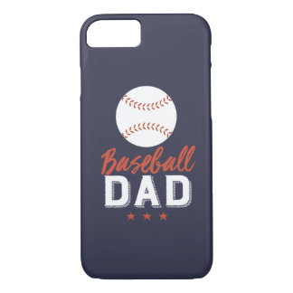 Baseball Dad Proud Father of Sports Player Kid iPhone 8/7 Case