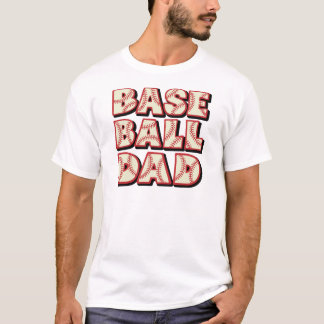 Baseball Dad, red-black T-Shirt