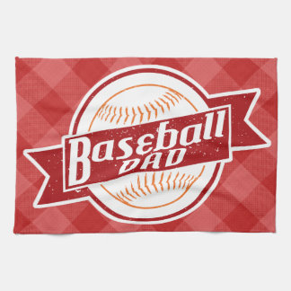Baseball Dad Tea Towels