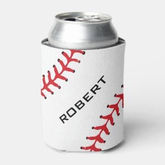 Baseball Design Can Cooler