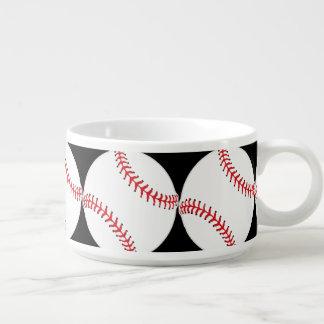 Baseball Design Chili Soup Bowl