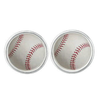 """Baseball"" design jewelry set Cufflinks"